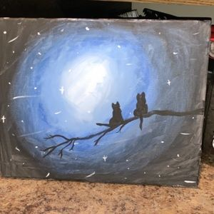 Other - Cat Canvas Painting